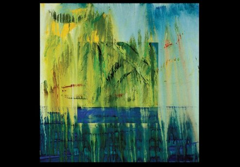 George Oommen - Kerala series - altered reflections - 2002 Acrylic on canvas 24x24inches