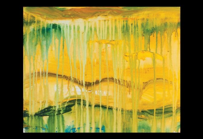 Untitled - 2013 - acrylic on canvas - 20x30 inches